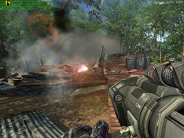 Crysis in 1024 x 768, High, 21 FPS