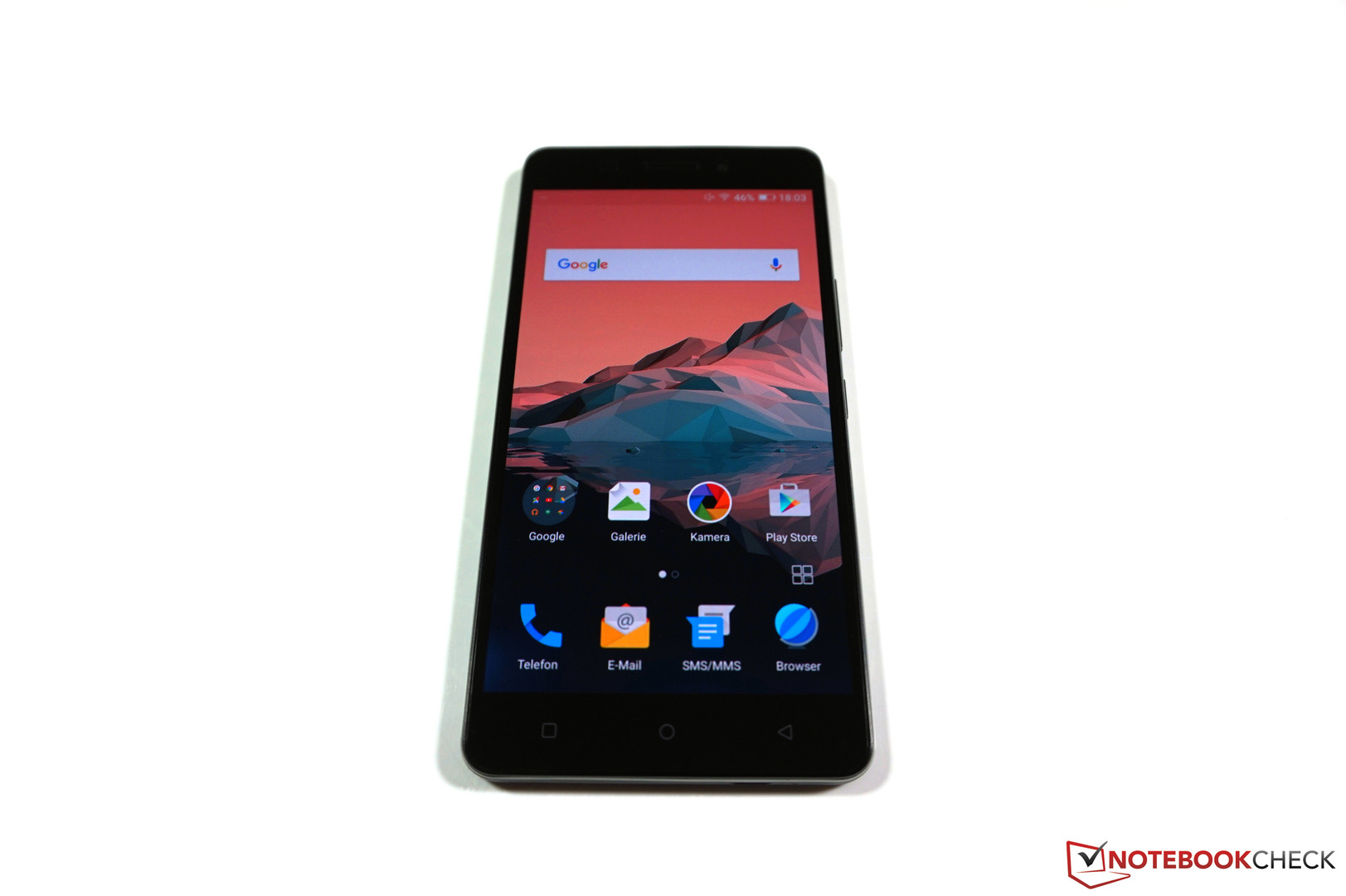 Test Allview P8 Energy Smartphone - Notebookcheck.com Tests