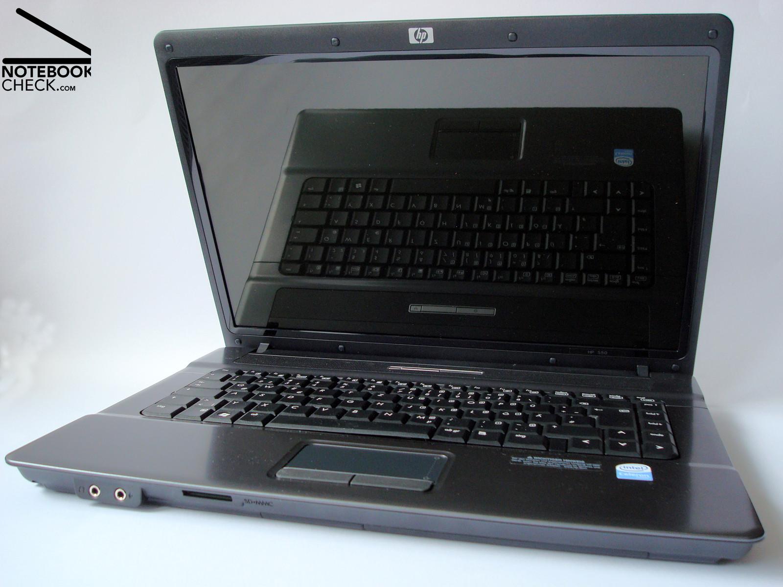 Das HP 550 ist preislich äußerst attraktiv