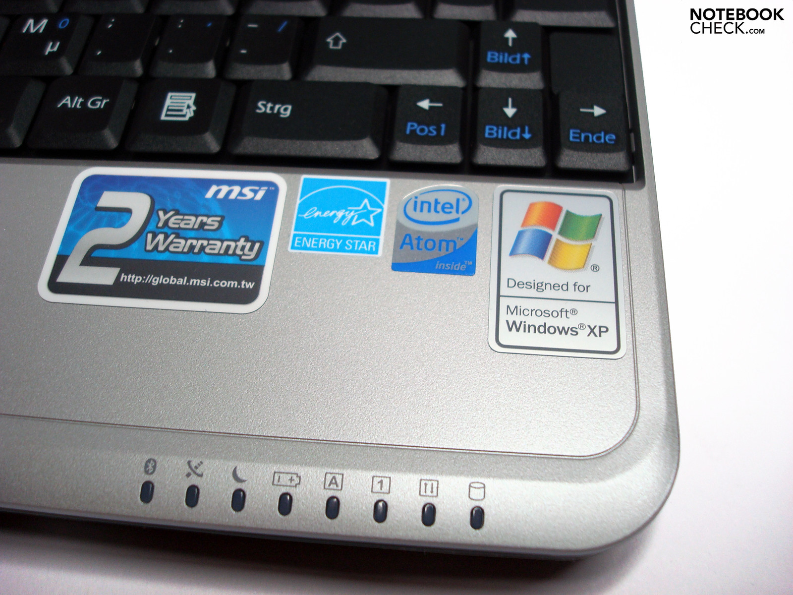 Test MSI Wind U115 Hybrid Luxury Netbook