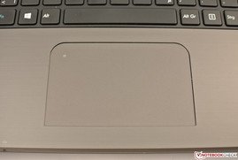 Multi-Touchpad ohne separate Tasten