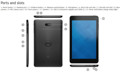Dell: Neues Venue 8 Pro (5855) Windows-Tablet ...