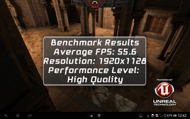 Epic Citadel Benchmark: High Quality