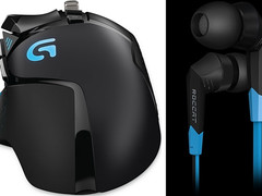 Gaming: Roccat Syva In-Ear-Headset und Logitech G502 Proteus Core Tunable Gaming Mouse