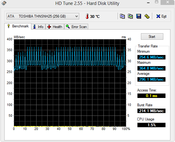 HD-Tune 296 MB/s Seq. Read