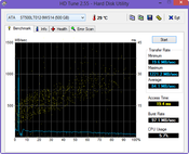 HD Tune: 84 MB/s Read Seq. (HDD)