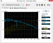 HD-Tune 88 MB/s Seq. Read