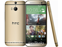 HTC: The All New HTC One 2 M8 in Gold geleakt