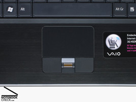Sony Vaio VGN-SZ61WN/C Touchpad