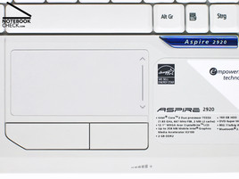 Acer Aspire 2920 Touchpad