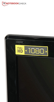 Das Display löst in Full-HD auf.