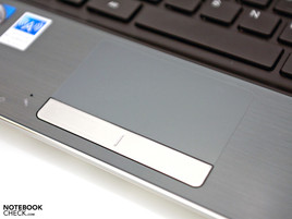 Angenehmes Touchpad (Multi-Touch)