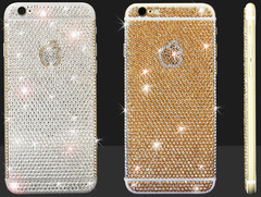 Brillant: Crystallize your Design veredelt Apple iPhone 6 und iPhone 6 Plus mit Swarovski Crystals