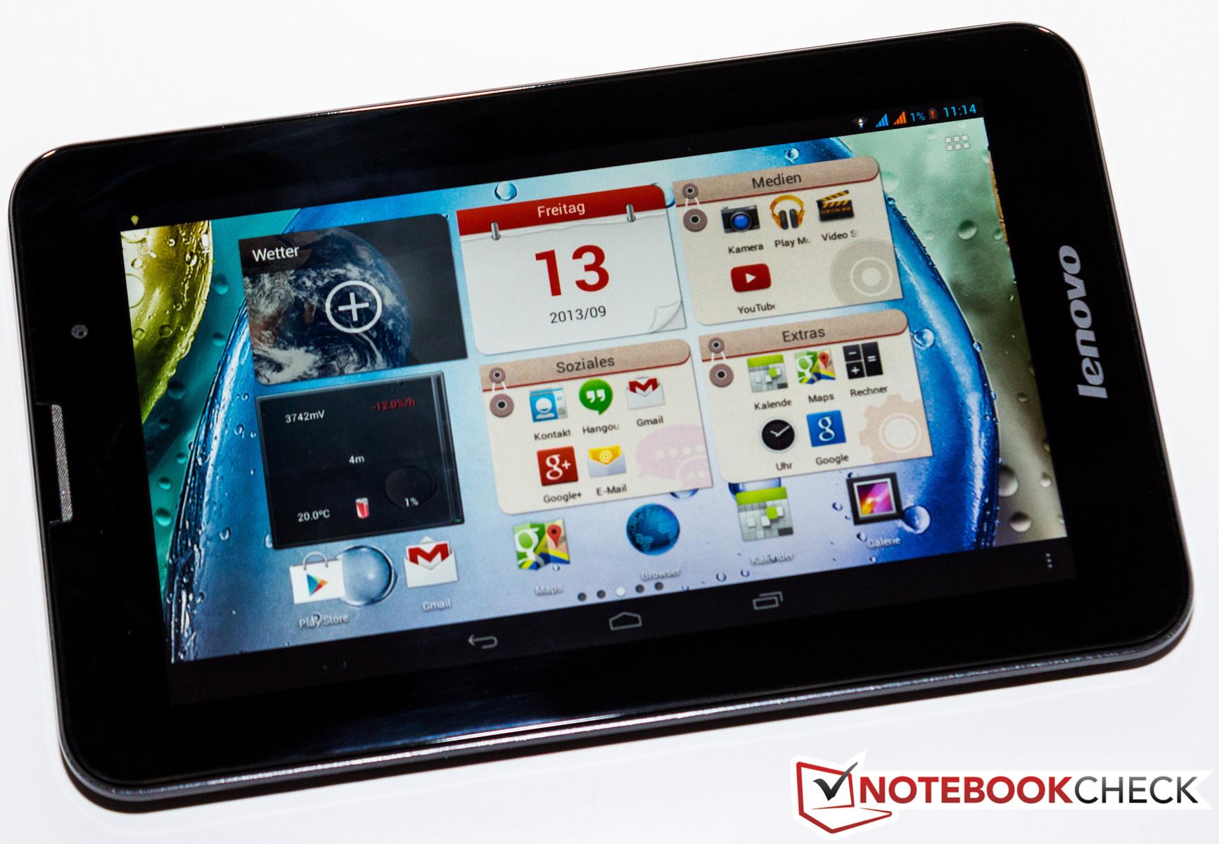Test Lenovo Ideatab A3000 H Tablet Tests A3500 16gb Midnight Blue Ips Panel Aber Geringe Displayauflsung