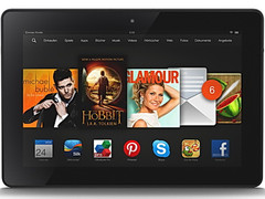 Amazon: 20 percent discount on all Kindle Fire Tablets HDX