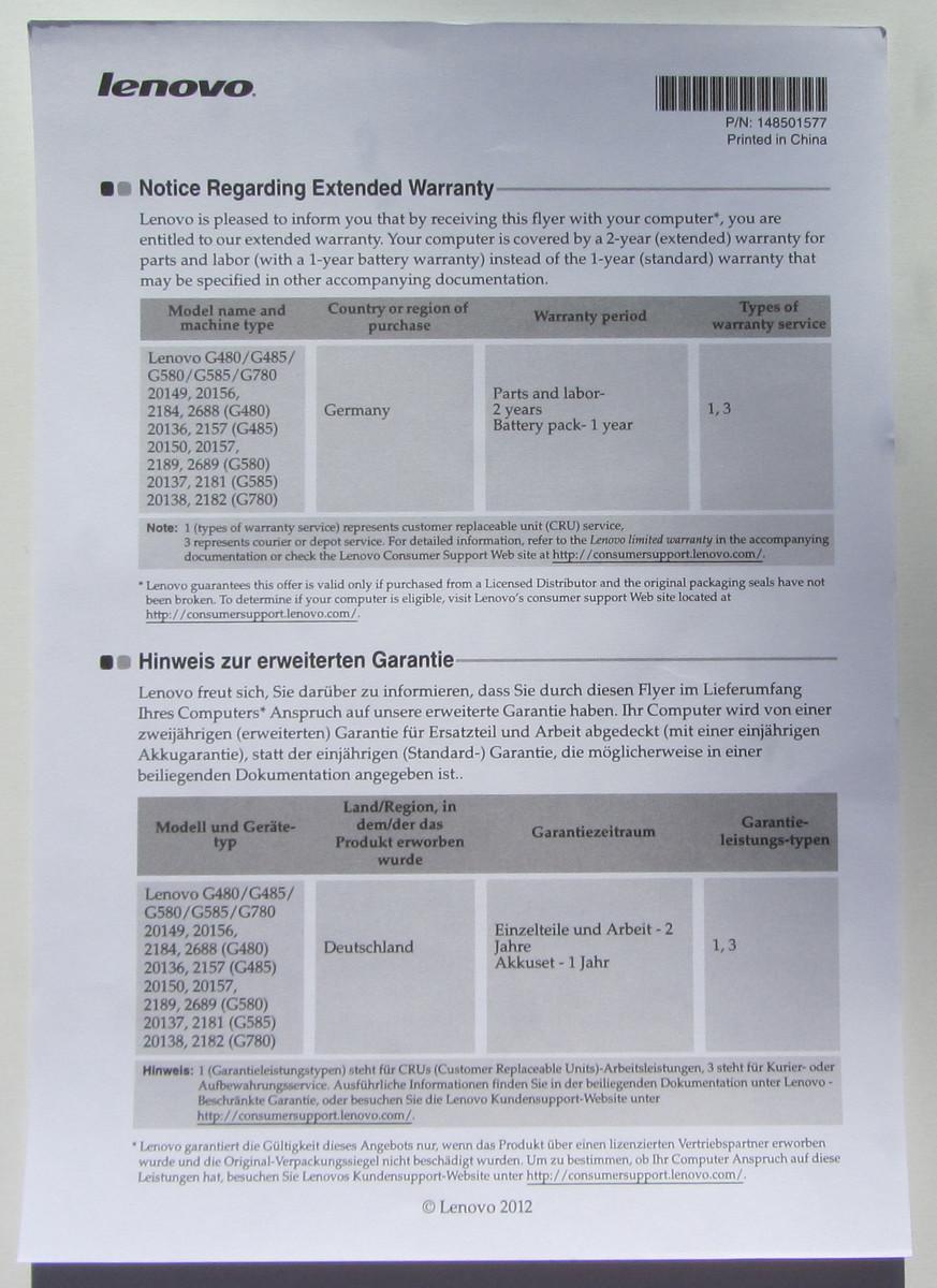 test lenovo g585 m8325ge notebook tests. Black Bedroom Furniture Sets. Home Design Ideas