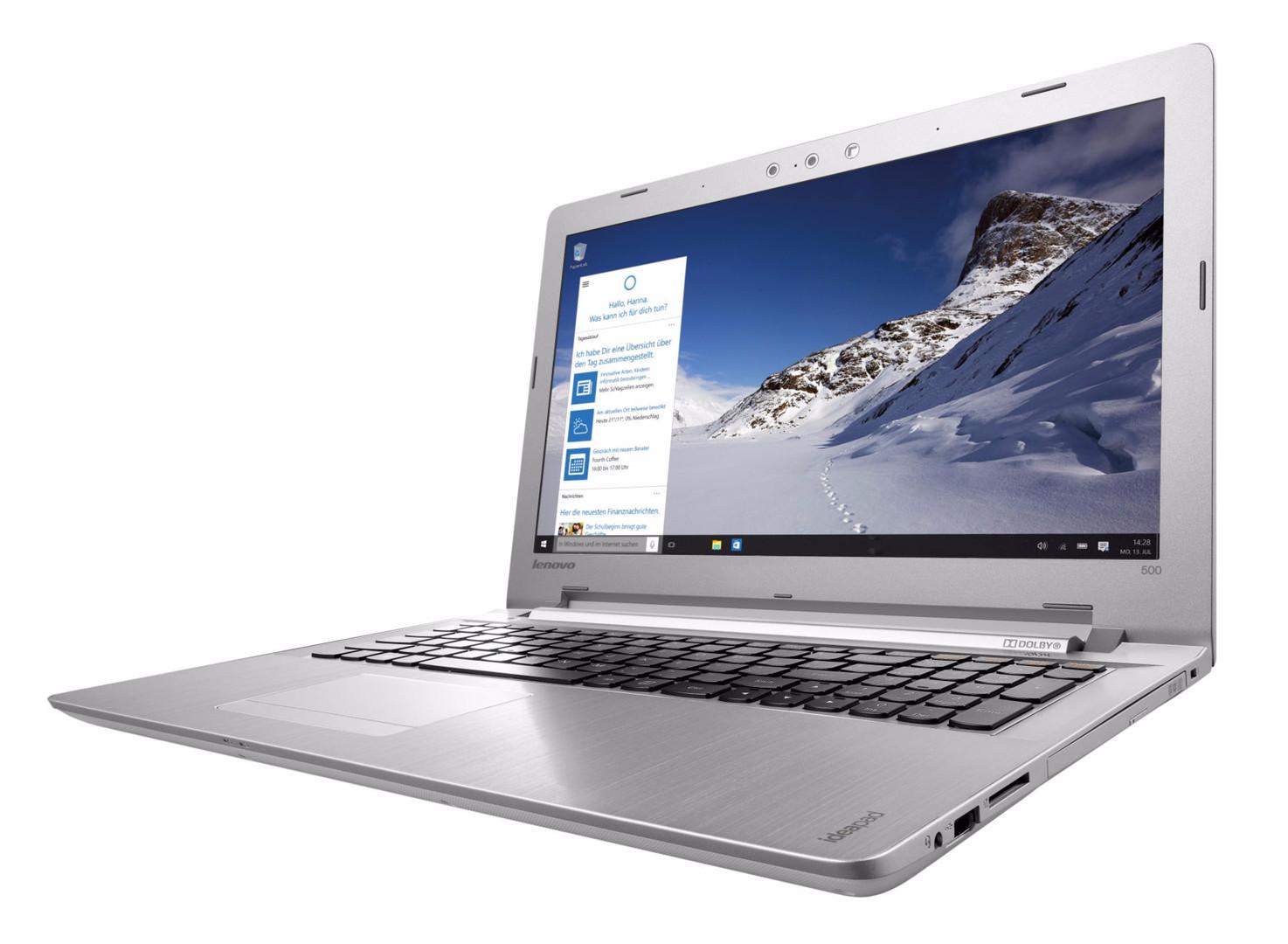 Test Lenovo Ideapad 500 15isk Notebook Notebookcheckcom Tests