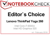 Editor's Choice im Februar 2016: Lenovo ThinkPad Yoga 260