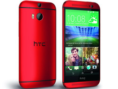 HTC One M8: Ab August auch in Rot