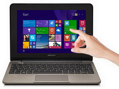 Medion: 10,1 Zoll Multitouch-Notebook Akoya E1232T MD 99410 ab 31. Juli