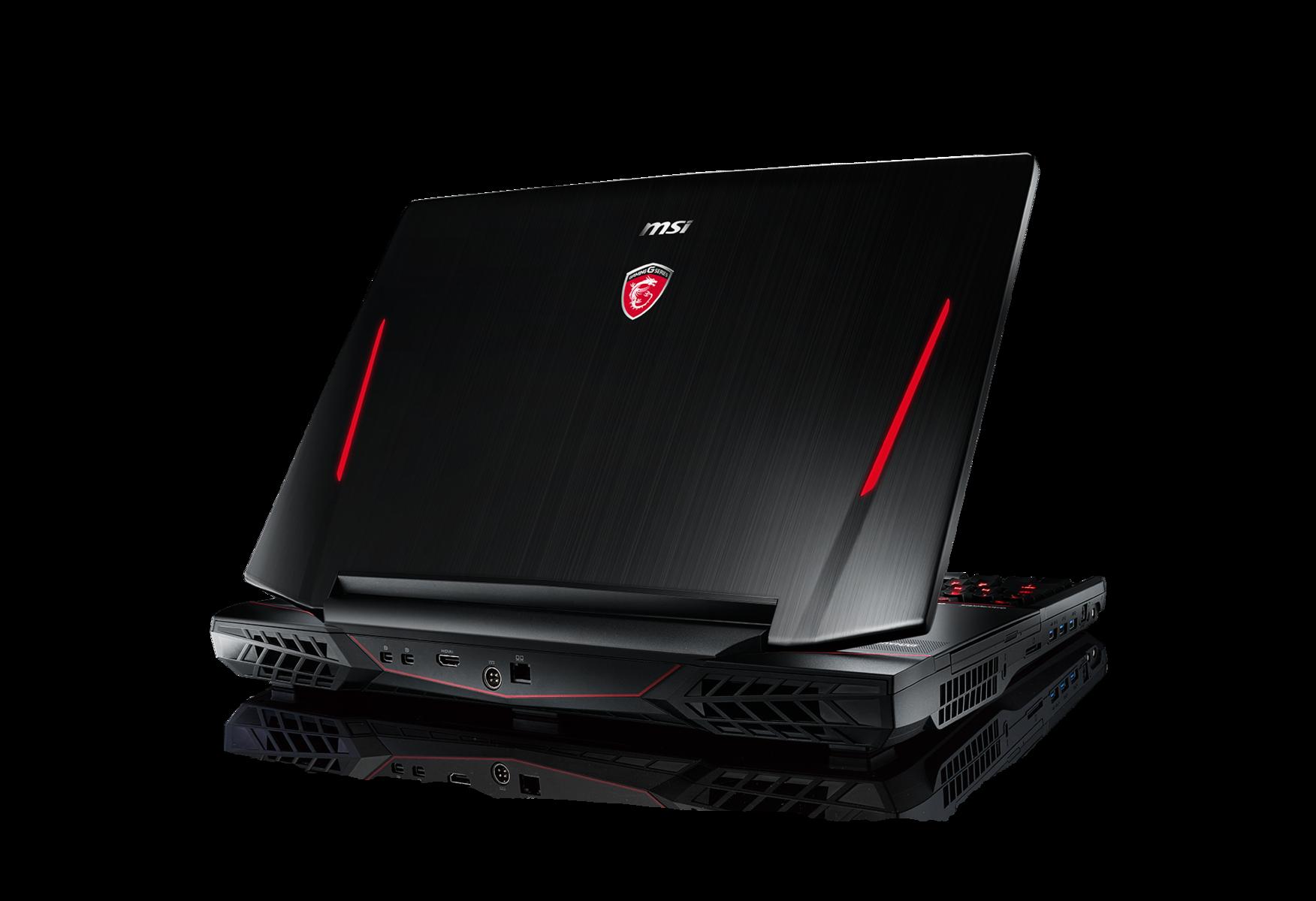 Msi Pr 228 Sentiert Gaming Notebook Gt80 Titan Sli Mit Zwei