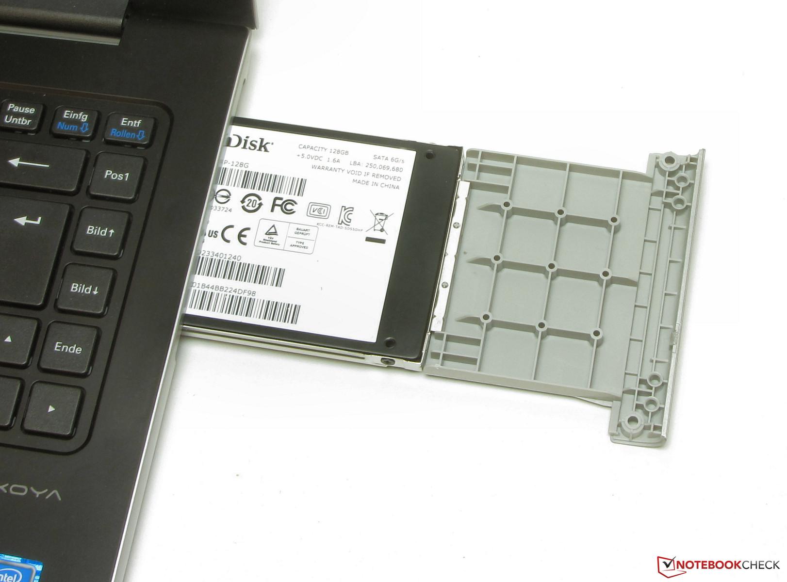 Test Medion Akoya S4219 Notebook Notebookcheck Com Tests