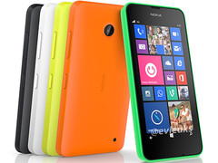 Lumia 630: Nokia Smartphone RM-974 mit 5-MP-Kamera und Windows Phone 8.1