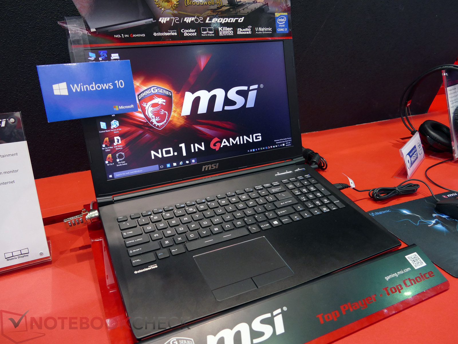 MSI GP62 mit neuem Design - Notebookcheck.com News