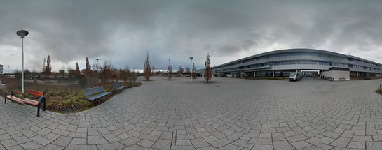 360°-Panorama mit Photo Sphere