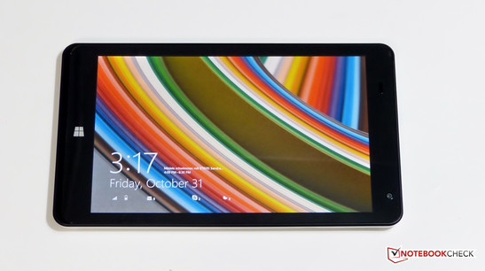 Touchscreen des Point of View Mobii WinTab 800W