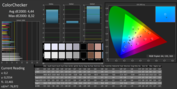 PremierColor: CalMAN AdobeRGB ColorChecker