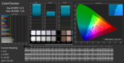 PremierColor: CalMAN sRGB ColorChecker