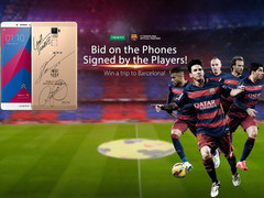 Oppo: Smartphone R7 Plus FC Barcelona Edition und Barça Fan Kit