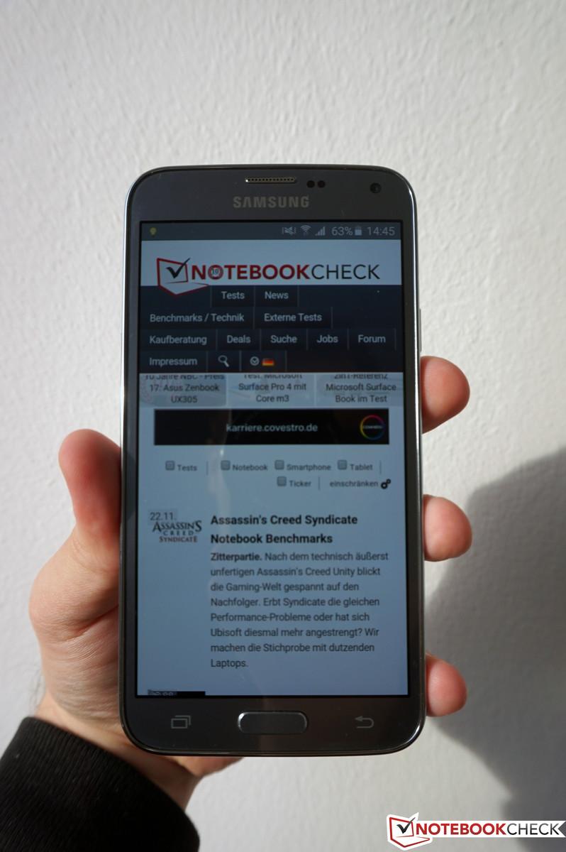 Test Samsung Galaxy S5 Neo Smartphone