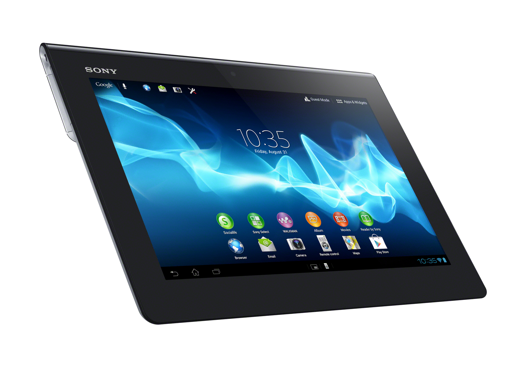 test sony xperia tablet s tablet mid tests. Black Bedroom Furniture Sets. Home Design Ideas