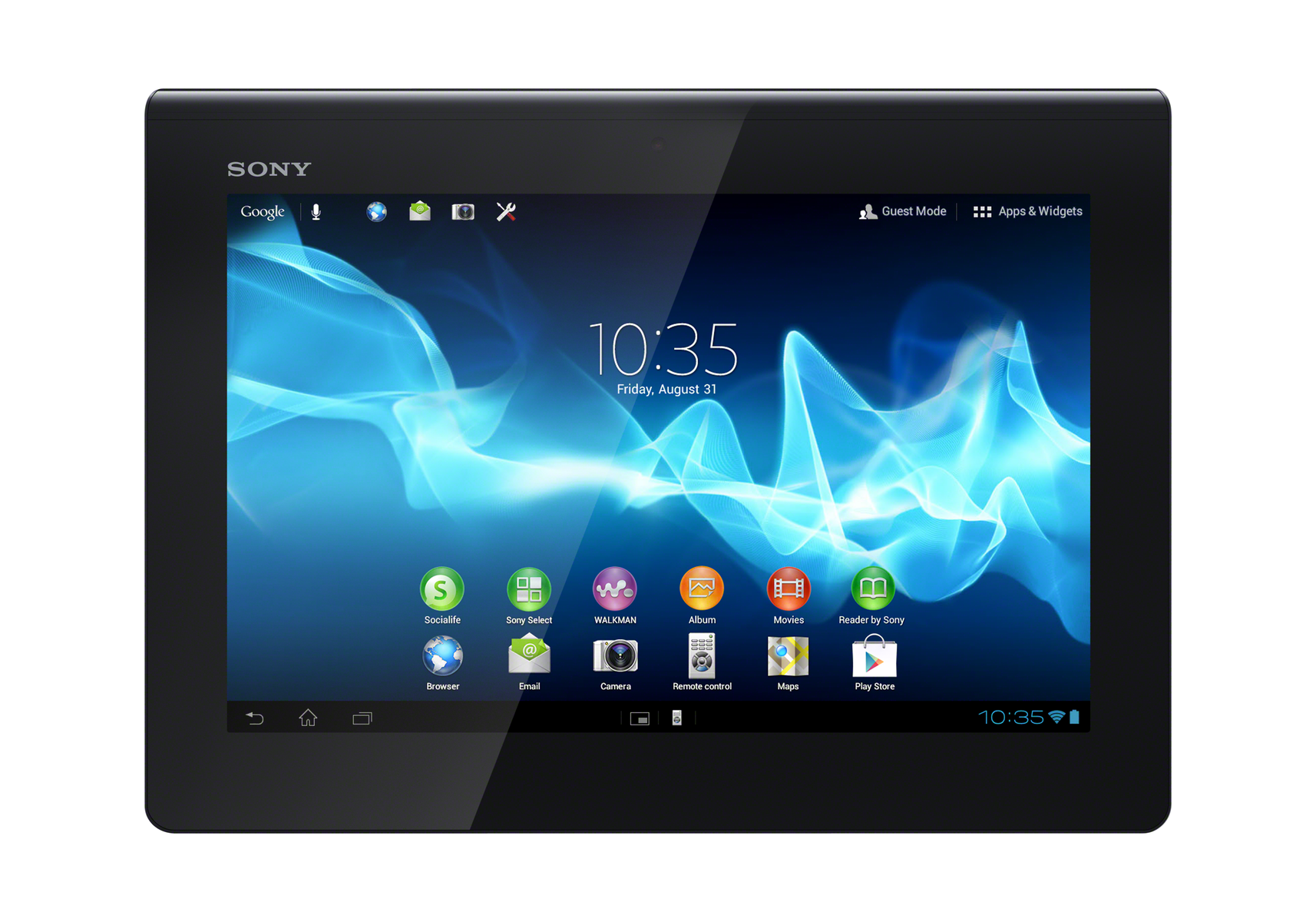 Test Sony Xperia Tablet S Tablet/MID