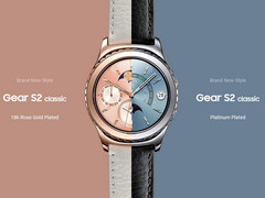 Samsung Gear S2 classic: Smartwatches in Platinum und Rose Gold ab Februar