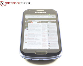 Blickwinkel Text Samsung S3 Mini GT-I8190
