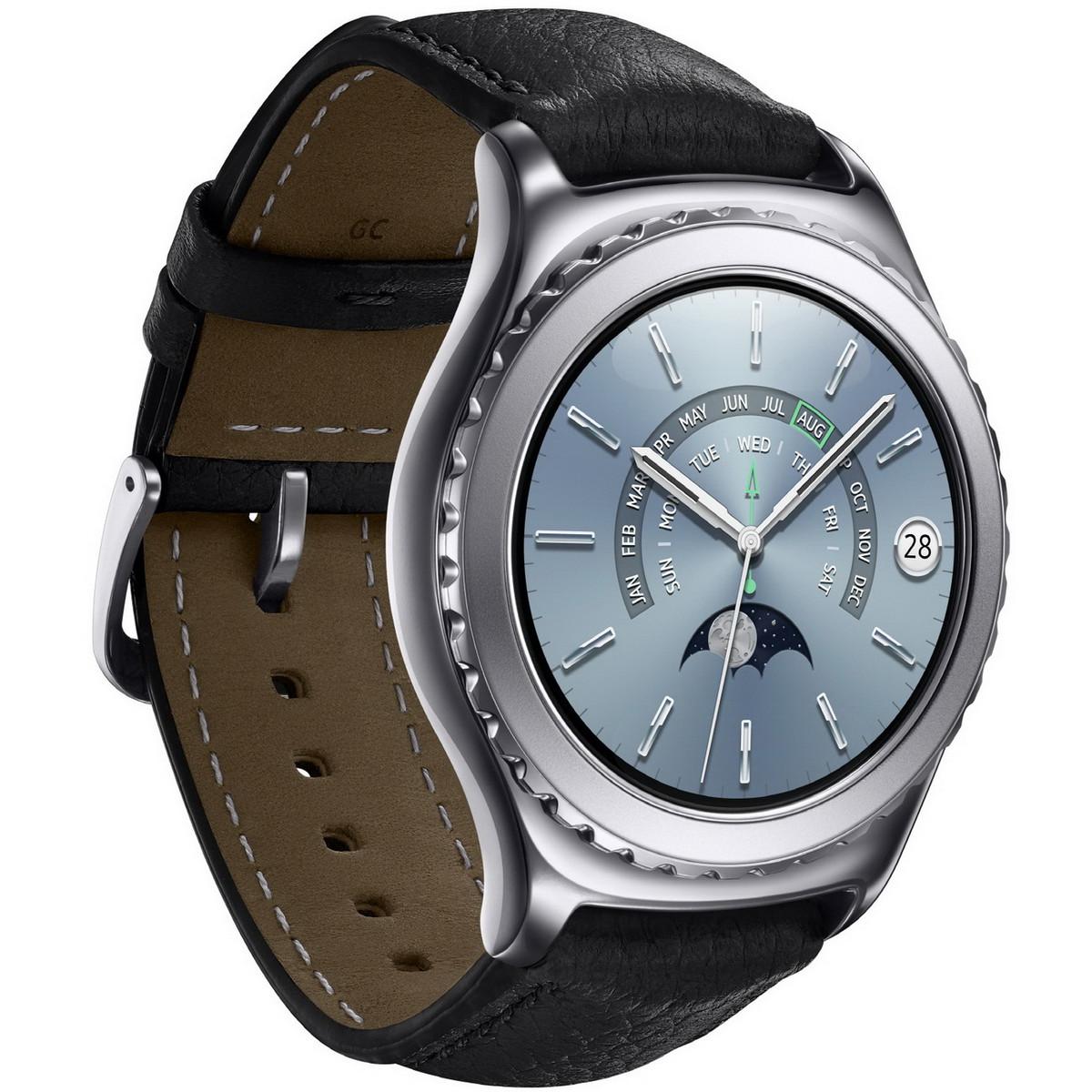 samsung gear s2 classic  smartwatches in platinum und rose gold ab februar