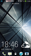 HTC Sense 5 UI: Lockscreen