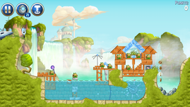Angry Birds Star Wars funktioniert tadellos.