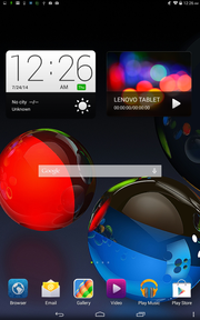 Android Jelly Bean Homescreen