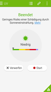 S Health: UV-Strahlung