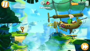 "... anspruchslosere Games wie ""Angry Birds 2"" ebenso."