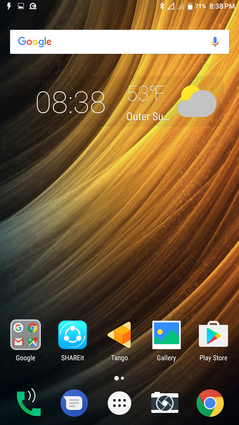 Android 6.0.1 Standard Homescreen