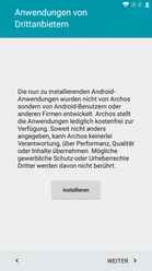 optionale Apps von Drittanbietern