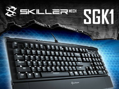 Gaming: Sharkoon Skiller Mech SGK1 mechanische Gaming-Tastatur