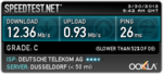 WLAN-Speed Desktop-PC (Quelle: speedtest.net)