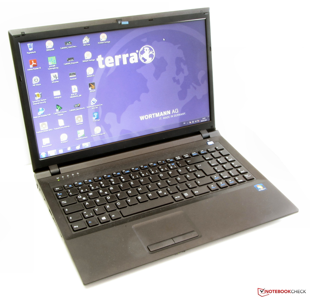 Verrassend Test Wortmann Terra Mobile 1512 Notebook - Notebookcheck.com Tests EQ-75