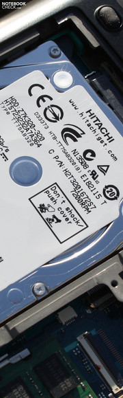Toshiba Portege R830-110: Version mit 7200 rpm HDD